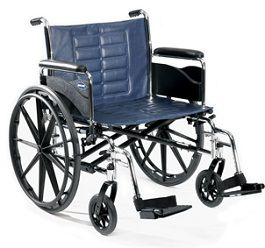 "22"" Wide Bariatric Wheelchair Trace IV-450 Lbs Cap."