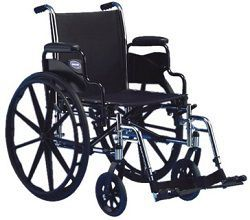 18 Inches Wide Lightweight Wheelchair Tracer SX5 300 Lbs Cap in Houston TX by Invacare