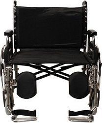 "26"" Paramount XD Wheelchair with Footrest-650 Lbs Cap"