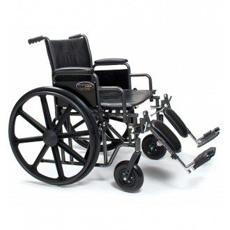 "20"" Wide Traveler HD Bariatric Wheelchair 1"
