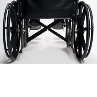"20"" Wide Traveler HD Bariatric Wheelchair 2"