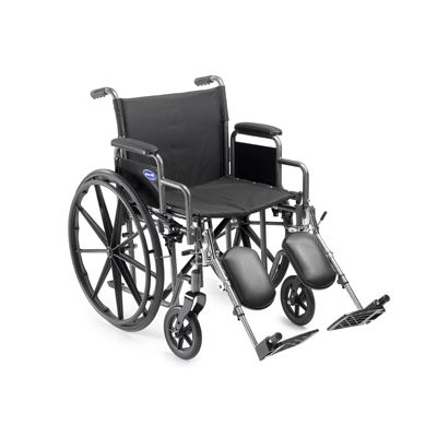 "18"" Full Lenght Permanent Arm & Footrest Wheelchair"
