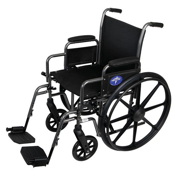 K1 Basic Wheelchair w/ Footrest