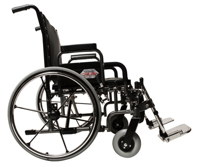 "26"" Paramount XD Wheelchair with Footrest"