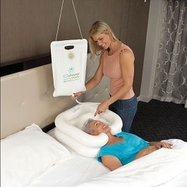 EZ Portable Bedside Shower