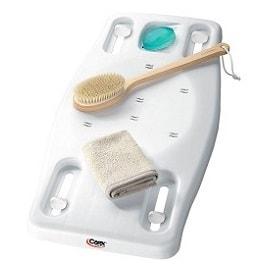 Portable Bath Board Shower and Bench Board Up to 28 Inches 300 Lbs Cap in Houston TX by Carex