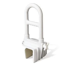 Adjustable Tub Grab Bar No Assemby Required-250 Lbs Cap.