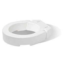 35 Inches Stard Hinged Toilet Seat Riser 300 Lbs Cap in Houston TX by Carex