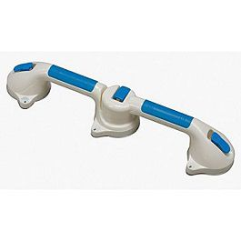 "20"" Dual Grip Suction Cup Swivel Grab Bar"
