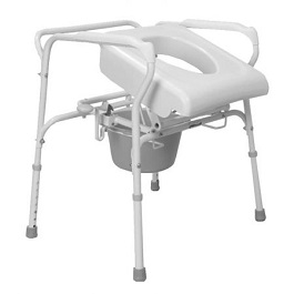 Self Powered Lifting Commode Assist - 300 Lbs Capacity