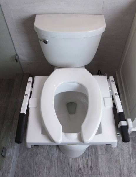 Lightweight Electric Powered Tilt Seat Lift For Standard Toilets