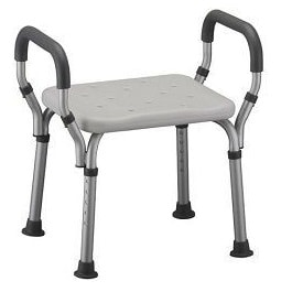 Shower Chair Bath Seat With Arms - 275 Lbs Capacity