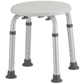Adjustable Nova Shower Stool-300 Lbs Cap