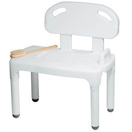 Universal Bathtub Transfer Bench Shower Chair-400 Lbs Capacity