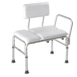 Deluxe Padded Transfer Bench-300 Lbs Capacity