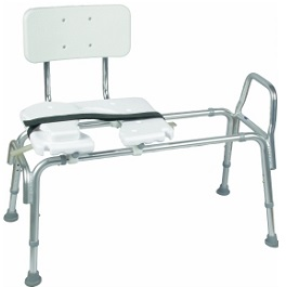 Bariatric Sliding Transfer Bench Seat-400 Lbs Cap
