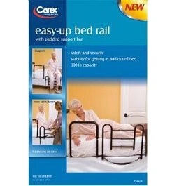 Carex Easy Up Bed Rail-300 Lbs Capacity