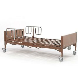 Invacare Reduced Gap Heavy-Duty Half-Length Bed Rail(Pair)