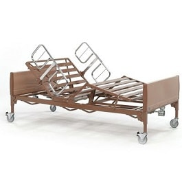 "42"" Full Electric Heavy Duty Hosp Bed(Bed Frame Only)-600 Lb Cap"