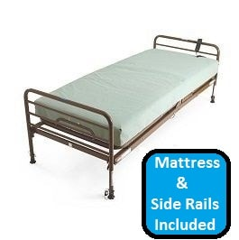 Economy Semi Electric Hospital Bed Package-350 Lbs Capacity in Houston TX by Medline