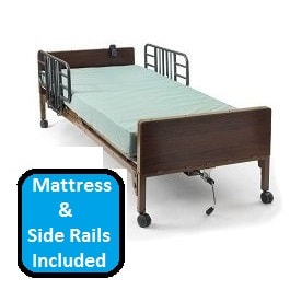 Basic Semi Electric Hospital Bed Package-350 Lbs Capacity