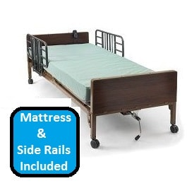 Basic Full Electric Hospital Bed Package-350 Lbs Capacity