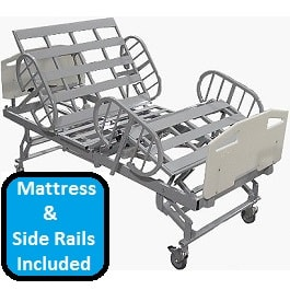 "42"" Bariatric Full Electric Hospital Bed Pckg-750 Lbs Cap"