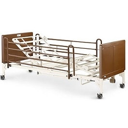 Invacare Full Electric G-Series Bed With Side Rails-350 Lb Cap