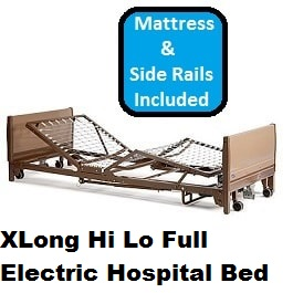 hi-lo-xlong-full-elect-hospital-bed-pckg84-frame-350-lb-cap title=