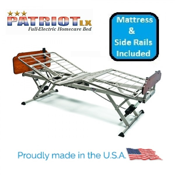 Premium Patriot Multi Position Adjustable Bed Pckg - 600 Lb Cap