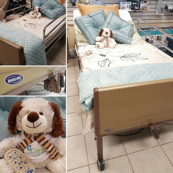 Full Electric Hospital Bed Package Bed Mattress