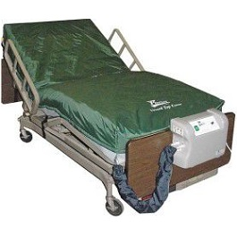 "8"" Low Air Loss Alternating Pressure Mattress 35"" Wide-350Lb Cap"