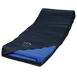 Alternating Pressure Low Air Powered Mattress & Pump-400 Lbs Cap
