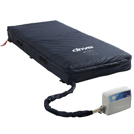 "8"" Powered APM Low Air Loss Mattress System with Pump-350 Lb Cap"