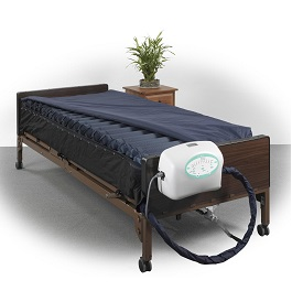 "10"" True Low Air Loss Mattress System with Pulsation-1000 Lb Cap"