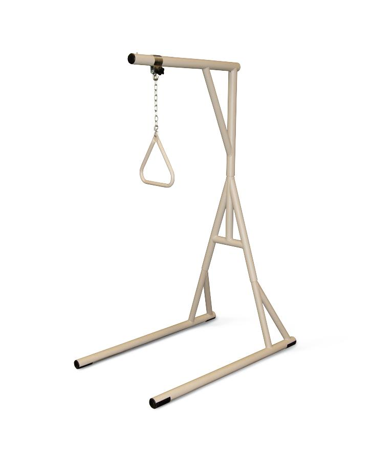 Heavy Duty Trapeze Bar With Stand - 1,000 Lbs Capacity