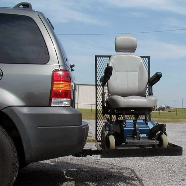 Scooter or Power Wheelchair Vehicle Carrier