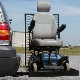 Exterior Manual Wheelchair Lift
