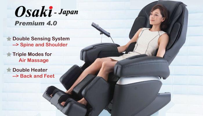 Pro Series Osaki Japan Premium 3D Massage Chair