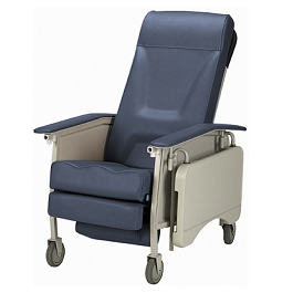 3-Position Recliner Geriatric Chair 250 Lbs Capacity-Deluxe