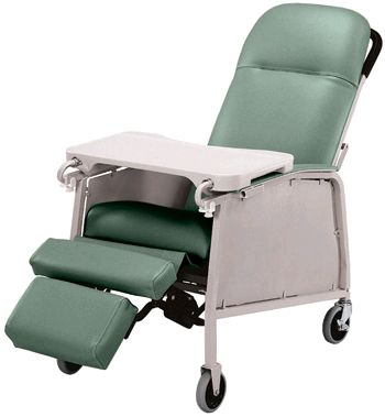 3 Position Recliner Geriatric Chair