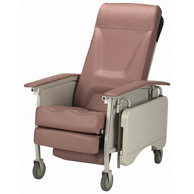 3-Position Recliner Geriatric Chair Deluxe Rosewood
