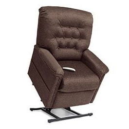"Basic 22"" Wide Reclining Lift Chair LC358L-375 Lbs Cap."