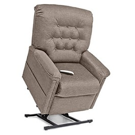 Basic 18 Inches Wide Recliner Lift Chair LC358S 375 Lbs Cap in Houston TX by Pride Mobility
