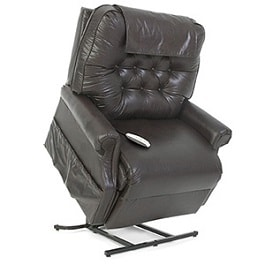 2 Position 30 Inches Heavy Duty Recliner Chair 600Lbs Cap by Pride Mobility