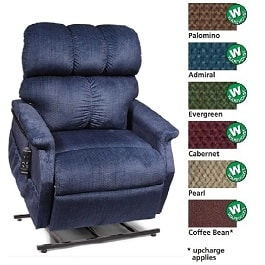 19 Inches Zero Gravity MaxiComforter Recliner Chair 300Lbs Cap in Houston TX by Golden Technologies
