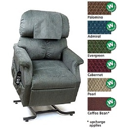 20 Inches Zero Gravity MaxiComforter Recliner Chair 300Lbs Cap by Golden Technologies