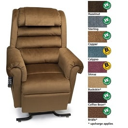 Zero Gravity Relaxer Recliner Chair w MaxiComfort 375Lbs Cap in Houston TX by Golden Technologies