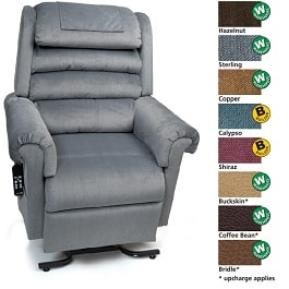 Zero Gravity MaxiComfort Relaxer Recliner Lift Chair 375Lbs Cap in Houston TX by Golden Technologies