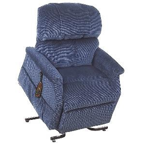 "3 Position 26"" Extra Wide Heavy Duty Recliner Chair With Dual Mo"